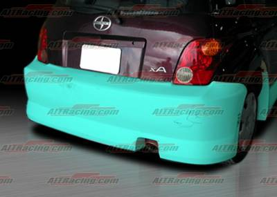 XA - Rear Bumper - AIT Racing - Scion xA AIT Racing FAB Style Rear Bumper - SA04HIFABRB