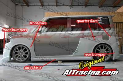 XB - Body Kits - AIT Racing - Scion xB AIT Racing K1 Style Wide Body Kit - SB04BMK1SCK