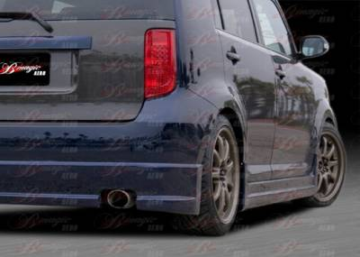 XB - Side Skirts - AIT Racing - Scion xB AIT Racing DL Style B-Magic Side Skirt - Passenger Side - SB08BMDLSSSPU