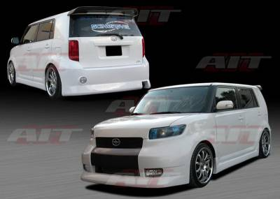 XB - Body Kits - AIT Racing - Scion xB AIT Racing FAB Style Body Kit - SB08HIFABCK
