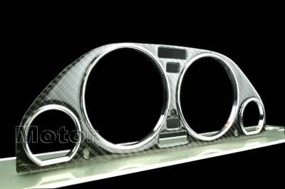 Car Interior - Interior Trim Kits - Custom - E32 E34 Carbon Fiber Bezel with Rings