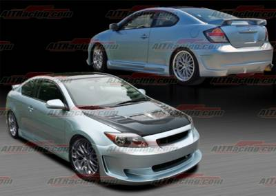 TC - Body Kits - AIT Racing - Scion tC AIT Racing KS Style Complete Body Kit - SC04HIKSCK