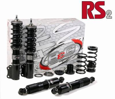 Suspension - Coil Overs - B&G Suspension - Volkswagen Golf B&G RS2 Coilover Suspension System - RS-96.002