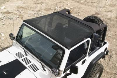 SUV Truck Accessories - Soft Tops - Warrior - Jeep CJ7 Warrior Breezer Top - 1110