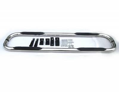 Suv Truck Accessories - Running Boards - 4 Car Option - GMC Yukon 4 Car Option Stainless Steel Side Bar - SSB-CV-0271