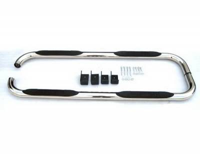 Suv Truck Accessories - Running Boards - 4 Car Option - Dodge Aspen 4 Car Option Stainless Steel Side Bar - SSB-DG-0441