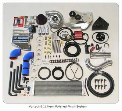 Performance Parts - Superchargers - Vortech - Dodge Challenger Vortech Vortech Supercharger System Polished - D10301