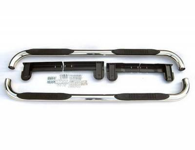 Suv Truck Accessories - Running Boards - 4 Car Option - Ford F150 4 Car Option Stainless Steel Side Bar - SSB-FD-0374
