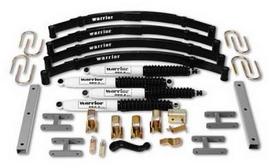 Suspension - Suspension Components - Warrior - Jeep Wrangler Warrior Front U-Bolts - 800021