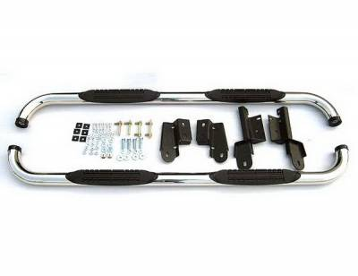 Suv Truck Accessories - Running Boards - 4 Car Option - Ford F150 4 Car Option Stainless Steel Side Bar - SSB-FD-0712
