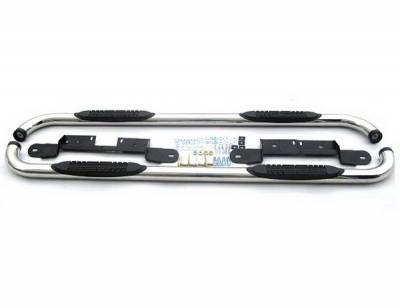 Suv Truck Accessories - Running Boards - 4 Car Option - Ford F150 4 Car Option Stainless Steel Side Bar - SSB-FD-0723