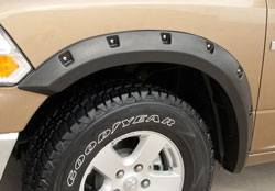 Ram - Fender Flares - California Dream - Dodge Ram California Dream Rivet Style Fender Flares - Unpainted - RX203S