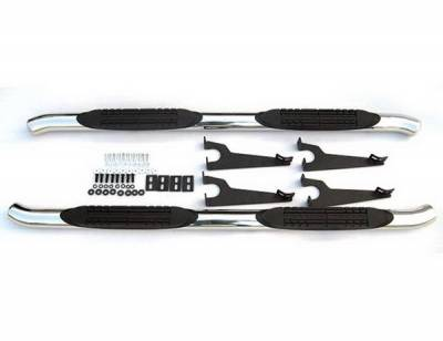 Suv Truck Accessories - Running Boards - 4 Car Option - Toyota FJ Cruiser 4 Car Option Stainless Steel Side Bar - SSB-TY-0601