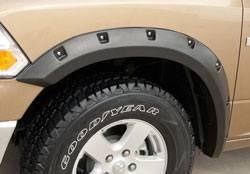 Ram - Fender Flares - California Dream - Dodge Ram California Dream Rivet Style Fender Flares - Unpainted - RX205S