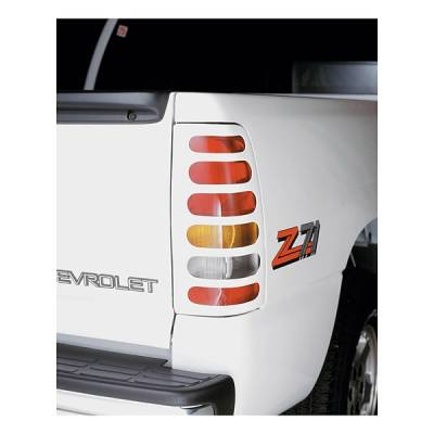 Headlights & Tail Lights - Tail Light Covers - V-Tech - Chevrolet Silverado V-Tech Taillight Covers - Original Style - 1550