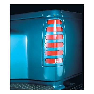 Headlights & Tail Lights - Tail Light Covers - V-Tech - Isuzu Amigo V-Tech Taillight Covers - Original Style - 1551