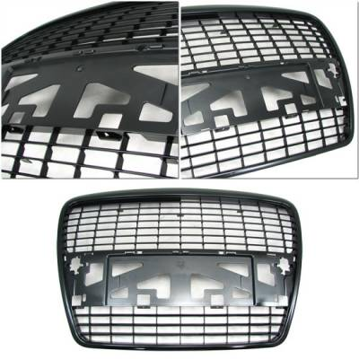 Grilles - Custom Fit Grilles - Custom - Black Grill Grille - Sedan