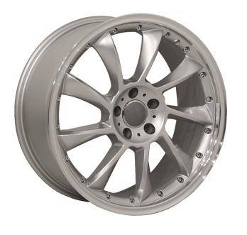 Wheels - Audi 4 Wheel Packages - Custom - 18 Inch Star Silver - 4 Wheel Set