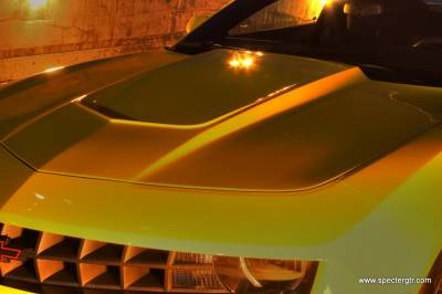 Camaro - Hoods - ACS - Chevrolet Camaro ACS Specter Werkes Camaro GTZ Extractor Hood - SWS-10501001
