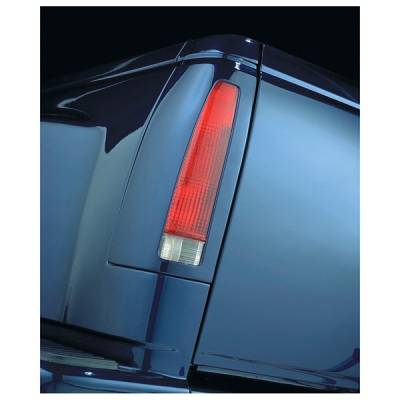 Headlights & Tail Lights - Tail Light Covers - V-Tech - Ford Bronco V-Tech Taillight Covers - French Cut Style - 2106