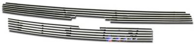 Grilles - Custom Fit Grilles - APS - Toyota Sequoia APS Billet Grille - Upper - Stainless Steel - T65379S