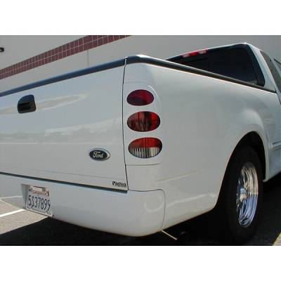 Headlights & Tail Lights - Tail Light Covers - V-Tech - Ford Superduty V-Tech Taillight Covers - Oval Style - 2231
