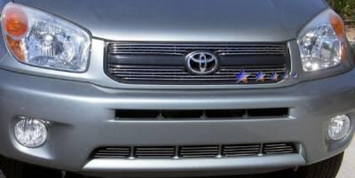 Grilles - Custom Fit Grilles - APS - Toyota Rav 4 APS Billet Grille - Upper - Aluminum - T65390A