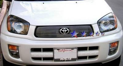 Grilles - Custom Fit Grilles - APS - Toyota Rav 4 APS Billet Grille - Upper - Aluminum - T65392A