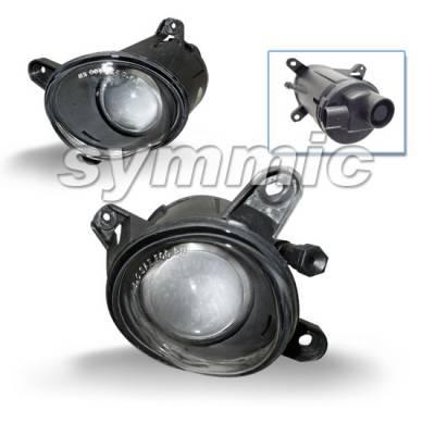 Headlights & Tail Lights - Fog Lights - Custom - VW PASSAT CLEAR PROJECTOR H3 FOG LIGHTS SET