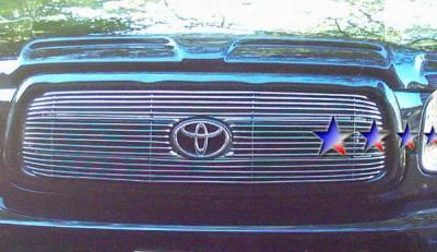 Grilles - Custom Fit Grilles - APS - Toyota Sequoia APS Billet Grille - Upper - Aluminum - T65428A