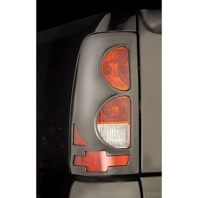 Headlights & Tail Lights - Tail Light Covers - V-Tech - Chevrolet Silverado V-Tech Taillight Covers - Bow Tie Style - 2472