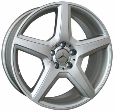 Wheels - Mercedes 4 Wheel Packages - Custom - 18 Inch SLKG Silver - 4 Wheel Set
