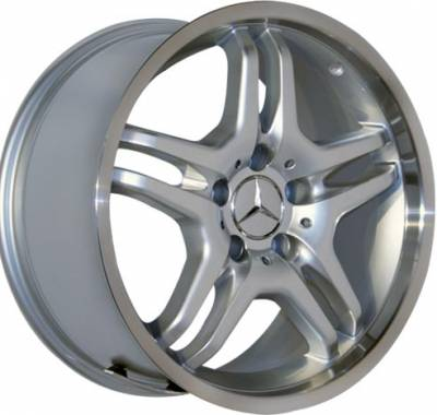 Wheels - Mercedes 4 Wheel Packages - Custom - 17 Inch BM3 Style - 4 Wheel Set