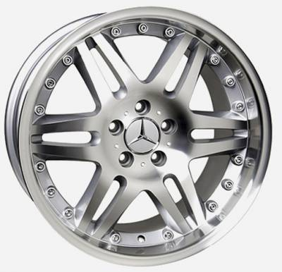 Wheels - Mercedes 4 Wheel Packages - Custom - 18 inch 12 Spoke Silver - 4 wheel set