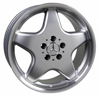 Wheels - Mercedes 4 Wheel Packages - Custom - 18 inch Star - 4 wheel set