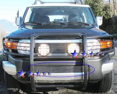 Grilles - Custom Fit Grilles - APS - Toyota FJ Cruiser APS Billet Grille - Bumper - Aluminum - T65456A
