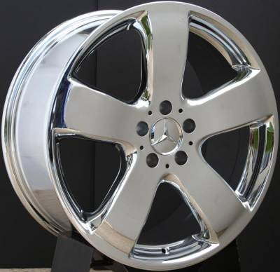 Wheels - Mercedes 4 Wheel Packages - Custom - 19 inch Chrome AMG style - 4 wheel set
