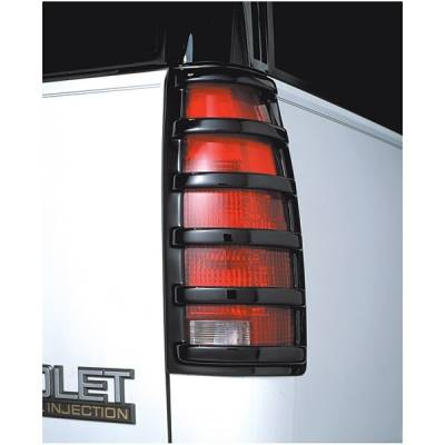 Headlights & Tail Lights - Tail Light Covers - V-Tech - GMC CK Truck V-Tech Taillight Covers - Tuff Cover Style - 5002