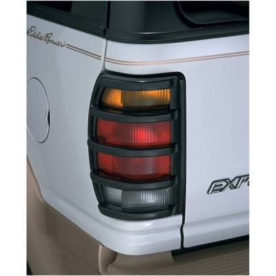 Headlights & Tail Lights - Tail Light Covers - V-Tech - Ford Bronco V-Tech Taillight Covers - Tuff Cover Style - 5006