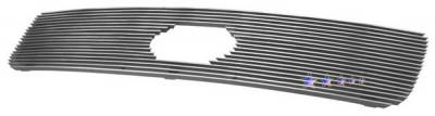 Grilles - Custom Fit Grilles - APS - Toyota Tundra APS Billet Grille - with Logo Opening - Upper - Aluminum - T65458A