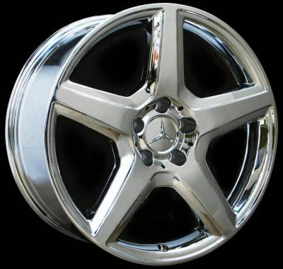Wheels - Mercedes 4 Wheel Packages - Custom - 18 Inch SLKG - 4 Wheel Set