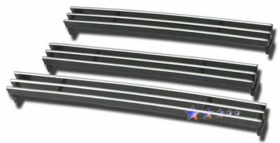 Grilles - Custom Fit Grilles - APS - Toyota Tundra APS Billet Grille - Bumper - Aluminum - T65459A