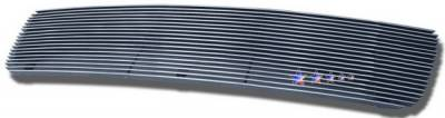 Grilles - Custom Fit Grilles - APS - Toyota Tundra APS Billet Grille - without Logo Opening - Upper - Aluminum - T65464A