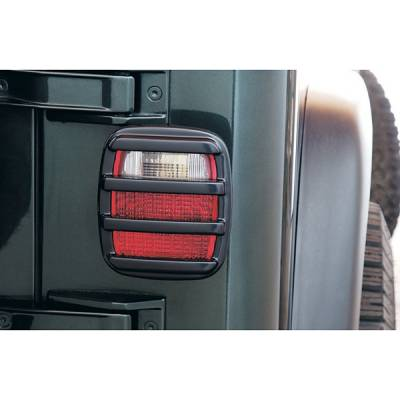 Headlights & Tail Lights - Tail Light Covers - V-Tech - Jeep Wrangler V-Tech Taillight Covers - Tuff Cover Style - 5030