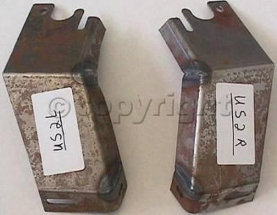Factory OEM Auto Parts - Original OEM Bumpers - Custom - FRONT BUMPER BRACKET SET