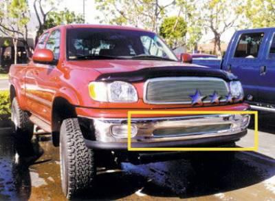 Grilles - Custom Fit Grilles - APS - Toyota Tundra APS Billet Grille - Bumper - Aluminum - T65484A