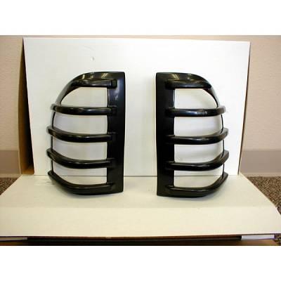 Headlights & Tail Lights - Tail Light Covers - V-Tech - Isuzu Amigo V-Tech Taillight Covers - Tuff Cover Style - 5051