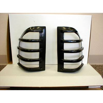 Headlights & Tail Lights - Tail Light Covers - V-Tech - Isuzu Rodeo V-Tech Taillight Covers - Tuff Cover Style - 5051