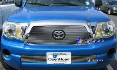 Grilles - Custom Fit Grilles - APS - Toyota Tacoma APS Billet Grille - 3PC - Upper - Aluminum - T66456A