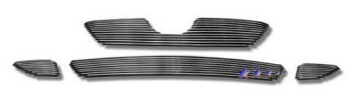 Grilles - Custom Fit Grilles - APS - Toyota Corolla APS Billet Grille - Upper & Bumper - Aluminum - T66602A